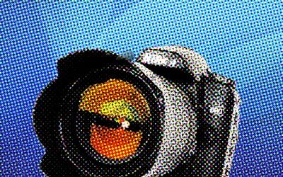 Stylized camera image.