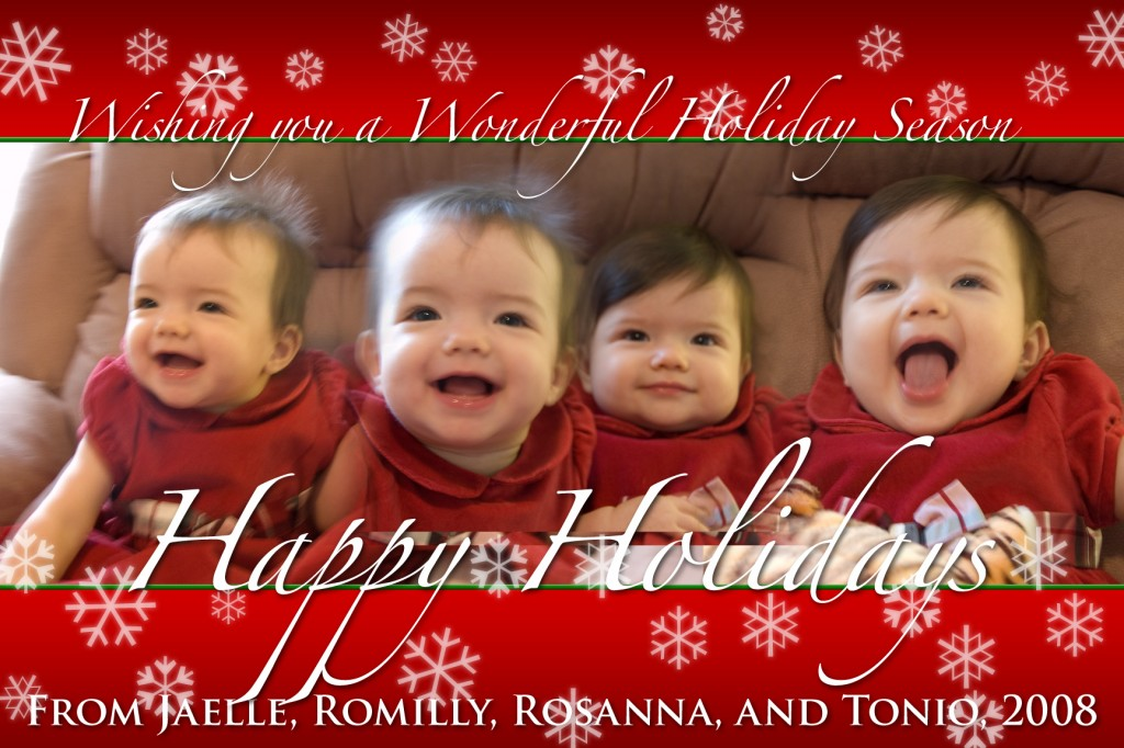 Happy Holidays from the Loewald Family