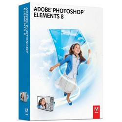 Photoshop Elements 8 Box Art