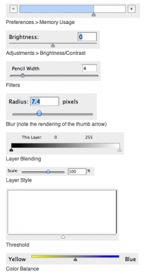 I'm guessing that Adobe pays more for UI designers on Photoshop than Pixelmator's gross revenues -- obviously, they're earning their money.
