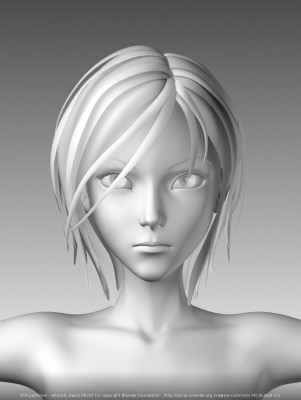 Sintel early render from Project Durian