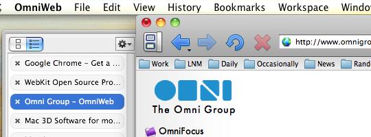 Omniweb's Drawer