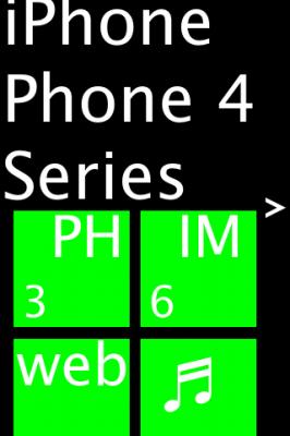 iPhone 4 UI leak
