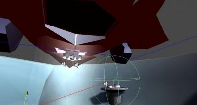 Manta screenshot from Unity dev environment