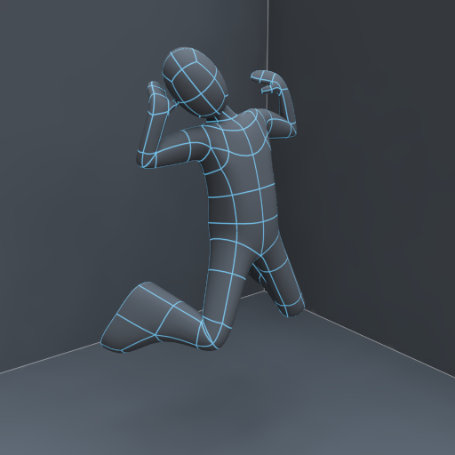 Bone heat implementation allows meshes to be skinned very easily
