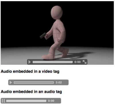 My Flash Media Player in Action