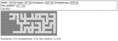 Maze Generator UI