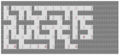 Rendered Maze Detail