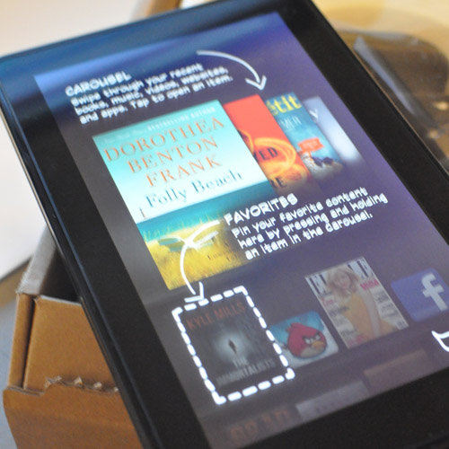 Kindle Fire Out of Box