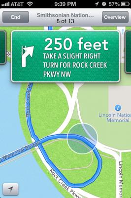 iOS6 Maps App