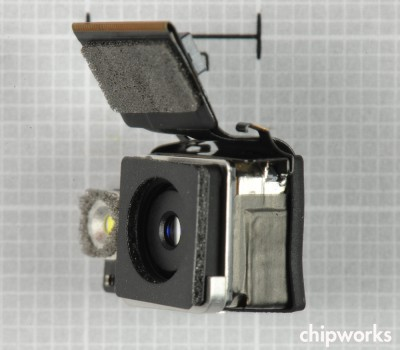 iPhone 4S Camera Module (via Chipworks)