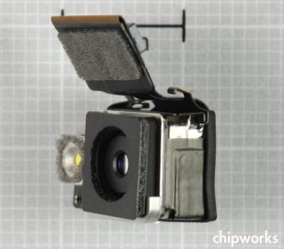 iPhone 4S Camera Module (via Chipworks)