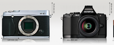 Fujifilm XE-1 and Olympus OM-D E-M5