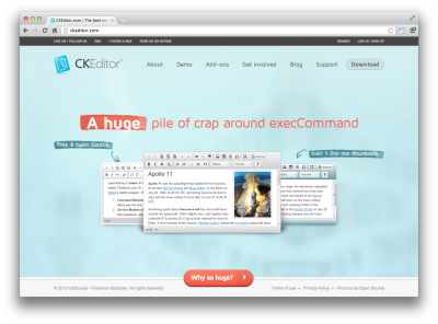 CKEditor Home Page (Defaced)