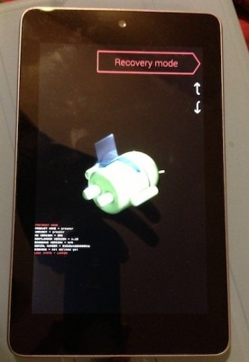 Bricked Nexus 7
