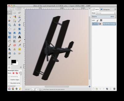 GIMP in Single-Window Mode