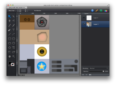 iDraw showing texture map
