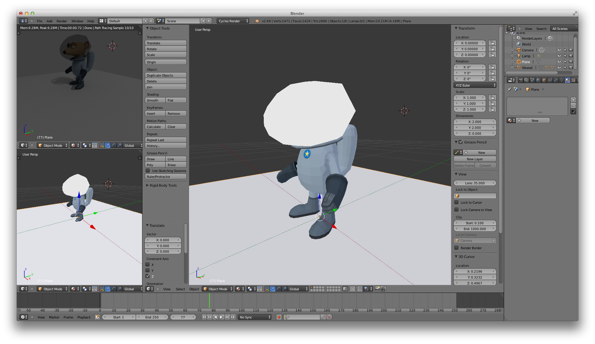 Making Blender Usable – inconsequence