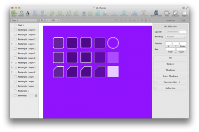 Using Sketch (this is the old version) you can whip up a UI skin in a matter of minutes