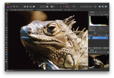 Affinity Photo in action