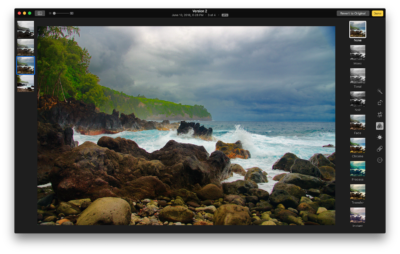 The Photos App is far more competitive with Lightroom than Aperture
