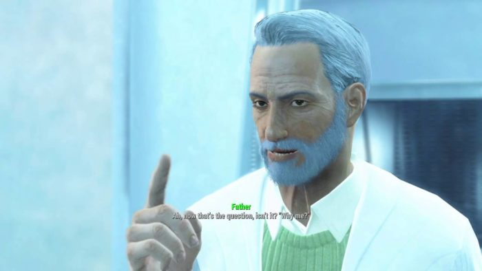 father (head of the Institute)