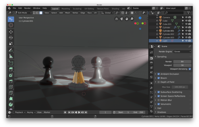 blender – inconsequence