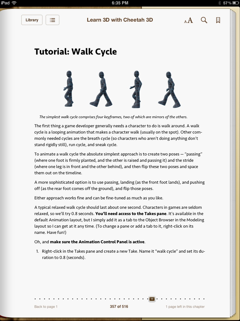 6 walk cycle